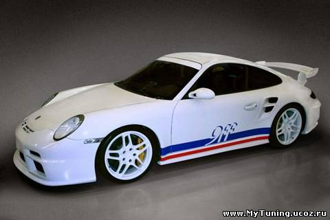 Немецкое тюнинг-ателье 9ff выпустило новый комплект тюнинга для Porsche 997 GT3 и 997 GT3 RS