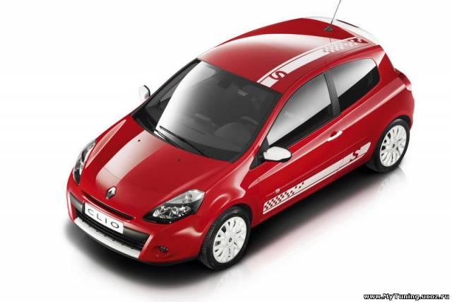 Renault выпустил имиджевую версию Clio